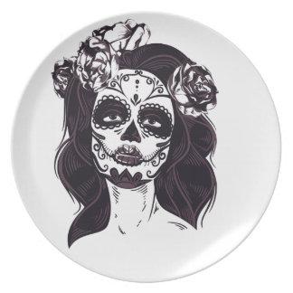 Gothic Skull Plate
