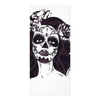 Gothic Skull Rack Card