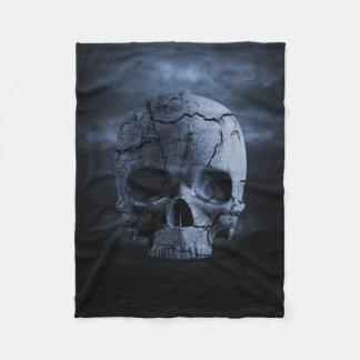 Gothic Skull Small Fleece Blanket