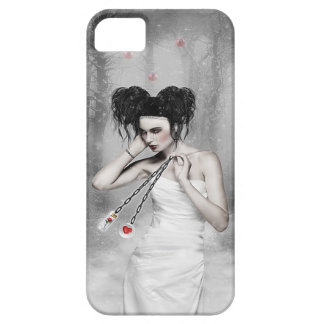 Gothic Snow Queen  iPhone 5/5S, Barely There Barely There iPhone 5 Case