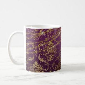 Gothic Starry Purple Drink Mug