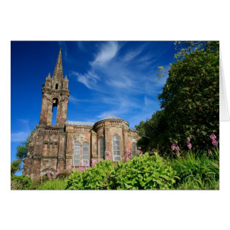 Gothic style chapel in Azores Greeting Card