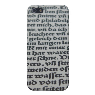 Gothic Text Case For The iPhone 5