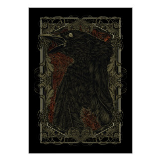 Gothic The Dead Crow Poster