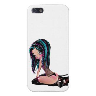 Gothic Tina iPhone 5/5S Case