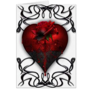 Gothic Valentine Card