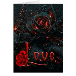 Gothic Valentines Day Card