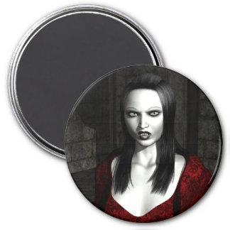 Gothic Vampire 7.5 Cm Round Magnet