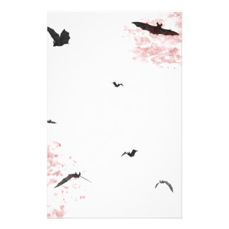 Gothic Vampire Bat Stationery