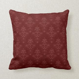 Gothic Victorian Damask Cushion