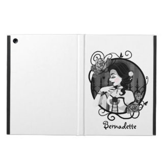 Gothic Victorian Vampire Portrait iPad Air Cover