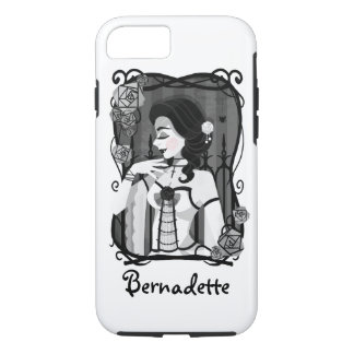 Gothic Victorian Vampire Portrait iPhone 8/7 Case