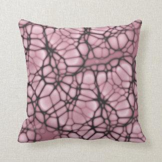 Gothic Web Throw Pillow Cushions