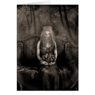 Gothic Wedding Card