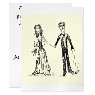 Gothic Wedding Invitations