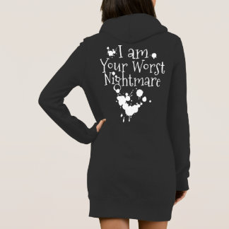 Gothic Your Worst Emo Christmas Nightmare Dress
