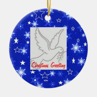 GothicChicz  Christmas Greeting Ornament