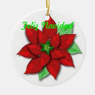 GothicChicz Feliz Navidad Ornament