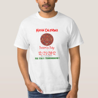 Gothicchicz Mayan Calendar T-shirts