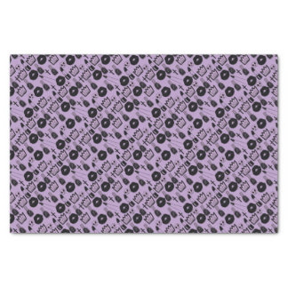 gotica queen purpura tissue paper