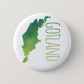 Gotland 6 Cm Round Badge