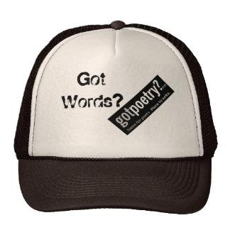 GotPoetry com Trucker Snapback - Help Save GP Mesh Hat