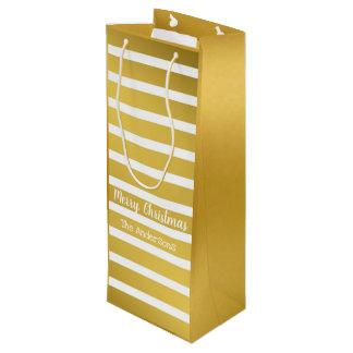 Gotta be Gold Wine Gift Bag