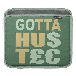 GOTTA HUSTLE / HU$T£€ custom iPad sleeve