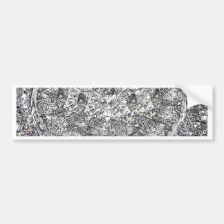 Gotta Lotta Diamonds Background Bumper Sticker