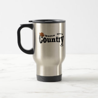 gotta love country yeehaw coffee mug