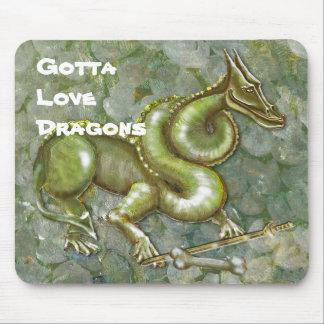 Gotta Love Dragons MousePad