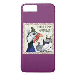 Gotta Love Guineas! iPhone 7 Plus Case