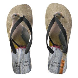 Gotta Love The Dove Flip Flops! Thongs