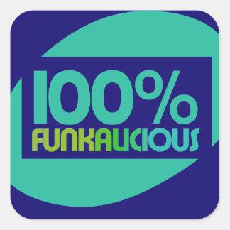 Gotta love the funk square sticker