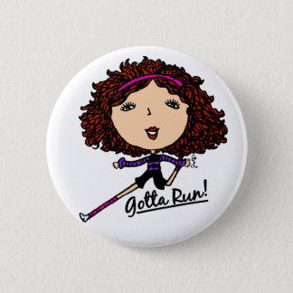 Gotta Run Go Girl Original 6 Cm Round Badge