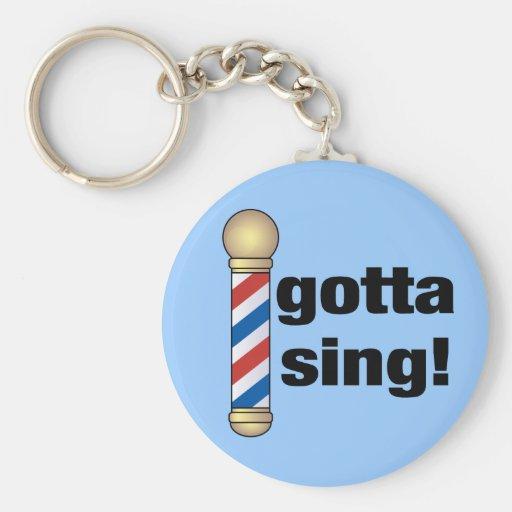 Gotta Sing Barbershop Gift Key Chains