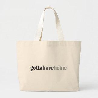 Gottahaveheine Jumbo Tote Bag