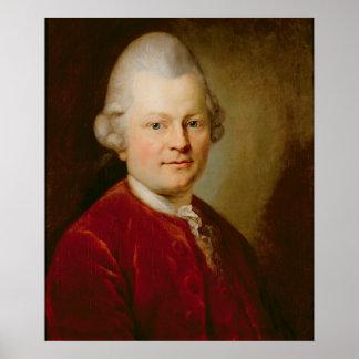 Gotthold Ephraim Lessing, 1727 Poster