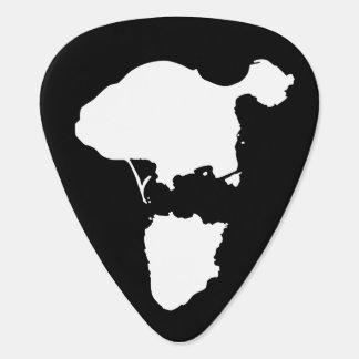 Gotts Island Guitar Picks - Black Plectrum