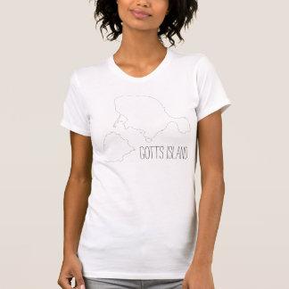 Gotts Island Shirt - Outline Strangelove Text