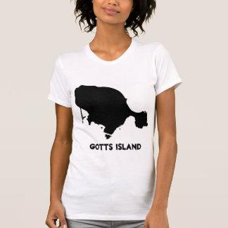 Gotts Island Shirt - Solid Black Women's AP