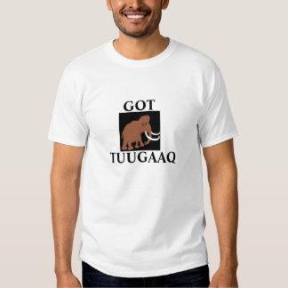 GOTTUUGAAQ, ivory, Mammoth tusk Shirt