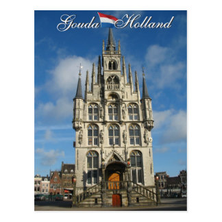 Gouda Holland Postcard