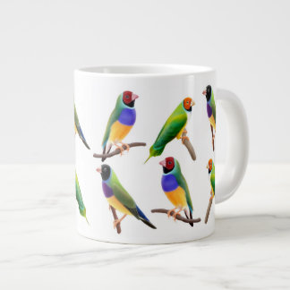 Gouldian Finch Lovers Mug Jumbo Mug