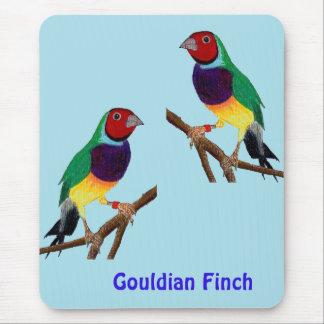 ~ Gouldian Finch ~ Original Art ~ Mouse Pad