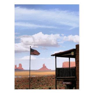 Gouldings Trading Post, Monument Valley, UT Postcard