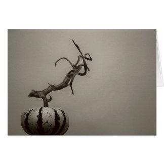 """gourd"" by Larry Coressel Card"