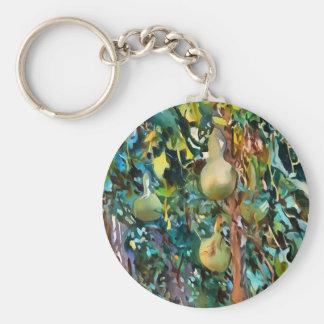 Gourds After John Singer Sargent Key Ring
