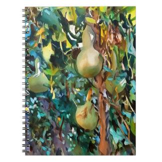 Gourds After John Singer Sargent Spiral Notebook