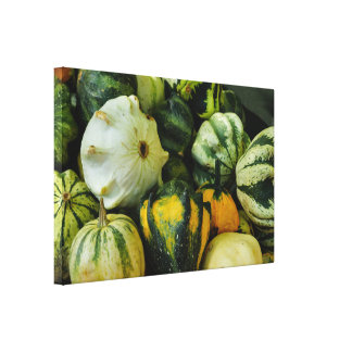 Gourds Galore Canvas Print